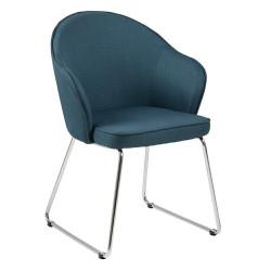 Krzesło Mitzie Niebieski ciemny