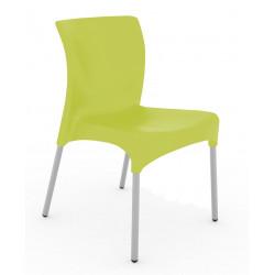 Krzesło Moon zielony jasny