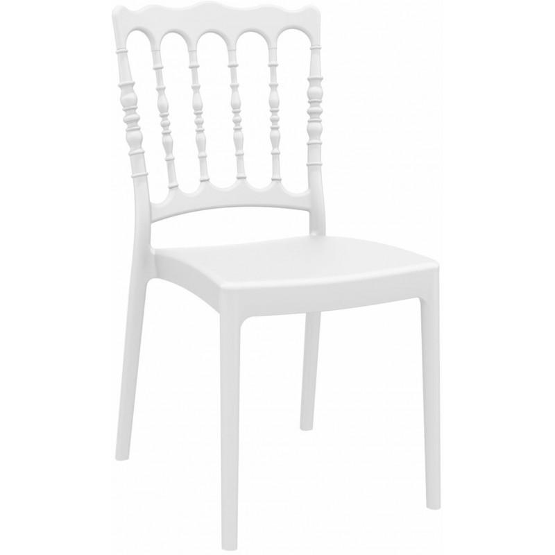 Krzesło Napoleon białe