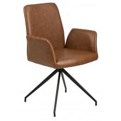 Krzesło Naya Vintage brązowe