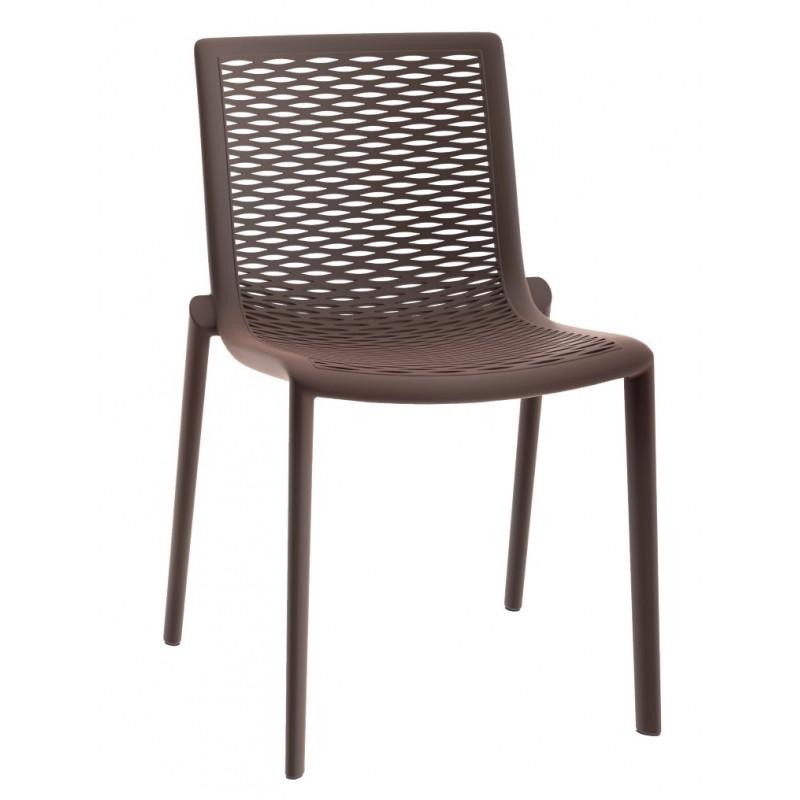Krzesło NetKat czekoladowe