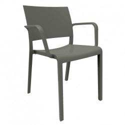 Krzesło New Fiona ciemnoszare