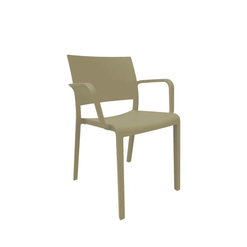 Krzesło New Fiona czekoladowe