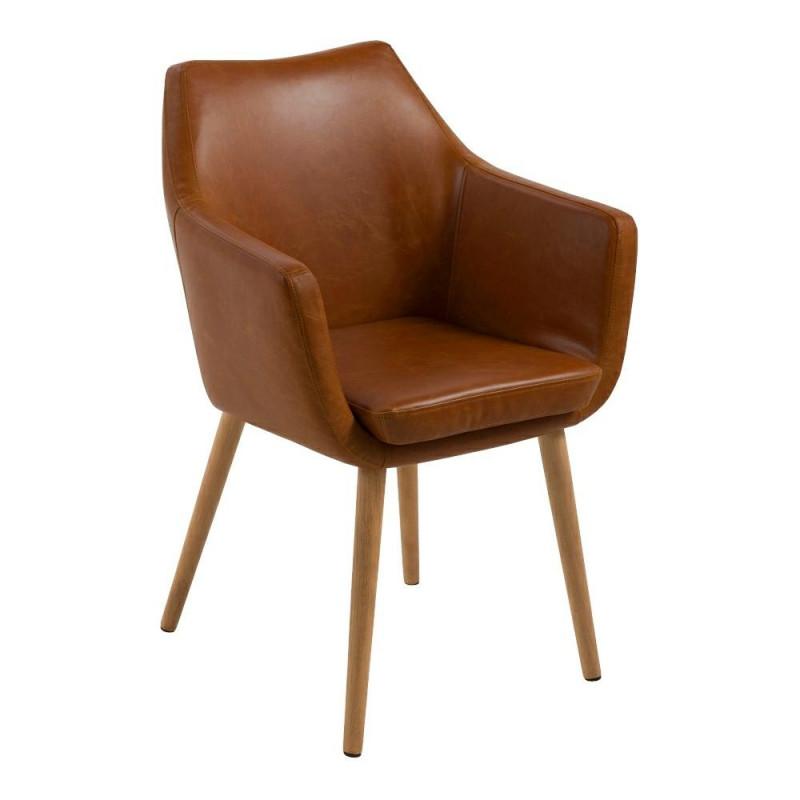 Krzesło Nora Brandy PU