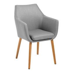 Krzesło Nora Light Grey