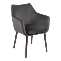 Krzesło Nora VIC Dark Grey