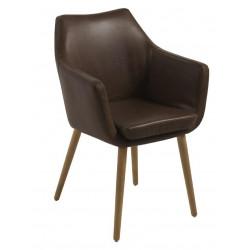 Krzesło Nora Vintage chocolate