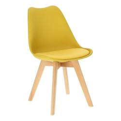 Krzesło Norden Cross PP żółte 1610