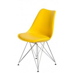 Krzesło Norden DSR PP żółte 1610