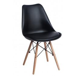 Krzesło Norden DSW PP czarne 1627