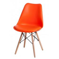 Krzesło Norden DSW PP pomarańcz. 1614