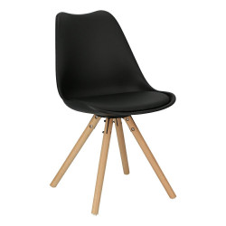 Krzesło Norden Star PP czarne 1627