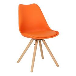 Krzesło Norden Star PP pomarańczowe 1614