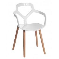 Krzesło Nox Wood białe
