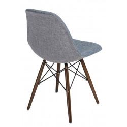 Krzesło P016W Duo nieb. szare /dark