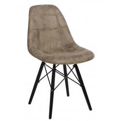 Krzesło P016W Pico oliwkowe/black