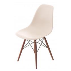 Krzesło P016W PP beige/dark