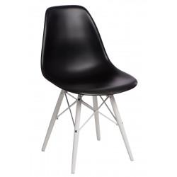 Krzesło P016W PP czarne/white
