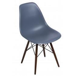 Krzesło P016W PP dark grey, dark nogi