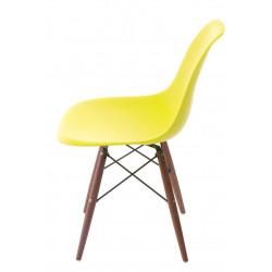 Krzesło P016W PP dark olive/dark