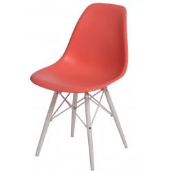 Krzesło P016W PP dark peach/white