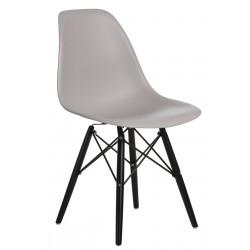 Krzesło P016W PP light grey/black