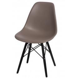 Krzesło P016W PP mild grey/black