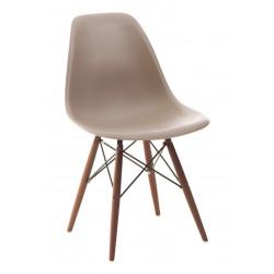 Krzesło P016W PP mild grey/dark