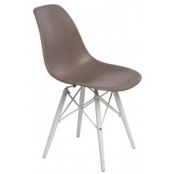 Krzesło P016W PP mild grey/white