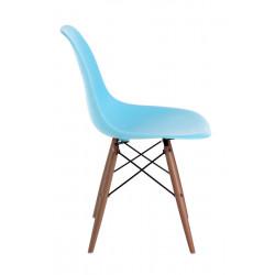 Krzesło P016W PP ocean blue/dark
