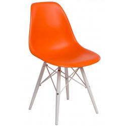 Krzesło P016W PP pomarańcz/white
