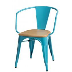 Krzesło Paris Arms Wood nieb. sosna natu ralna