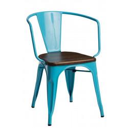 Krzesło Paris Arms Wood nieb. sosna orze ch