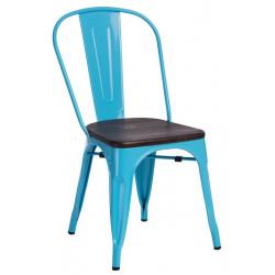 Krzesło Paris Wood nieb. sosna orzech