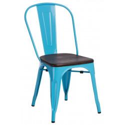 Krzesło Paris Wood nieb. sosna szczot.