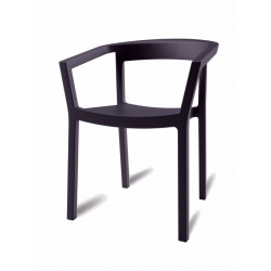 Krzesło Peach czarne