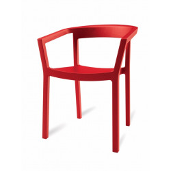 Krzesło Peach czerwone