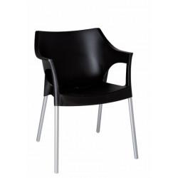 Krzesło Pole czarne