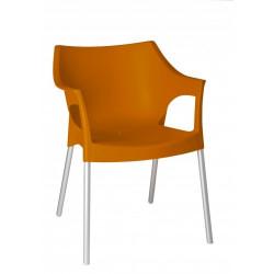 Krzesło Pole pomarańczowy