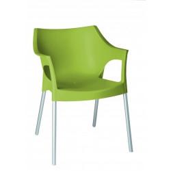 Krzesło Pole zielony