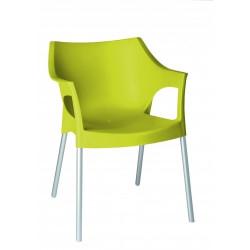 Krzesło Pole zielony jasny