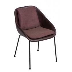 Krzesło Poter Soft M brązowe ciemne