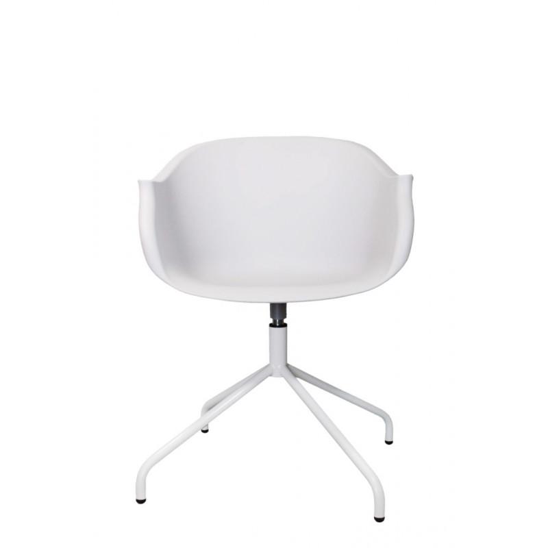Krzesło Roundy White