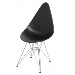 Krzesło Rush DSR czarne