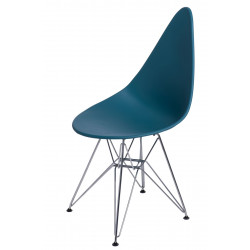 Krzesło Rush DSR navy green