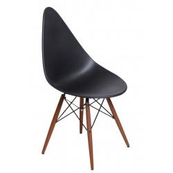 Krzesło Rush DSW czarne/dark