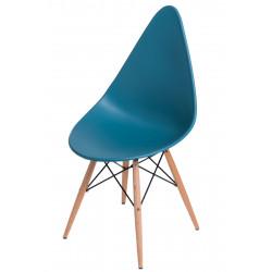 Krzesło Rush DSW navy green