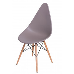 Krzesło Rush DSW szare
