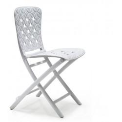 Krzesło składane Zac Spring białe