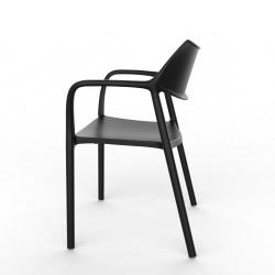 Krzesło Splash Aire czarne